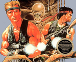 Contra - Bill and Lance in Contra (NES)