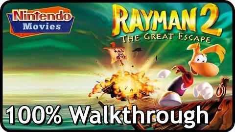 Rayman 2 The Great Escape - 100% Walkthrough