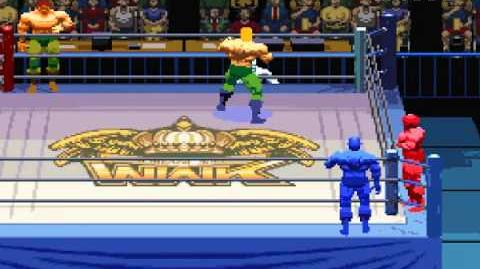 SNES Jikkyou Power Pro Wrestling '96 Max Voltage