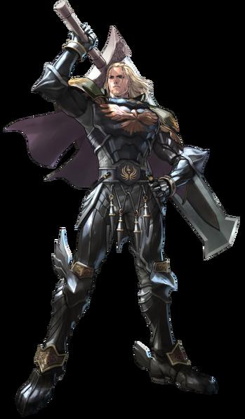 Soul Calibur - Siegfried Schtauffen as he appears in Soul Calibur V