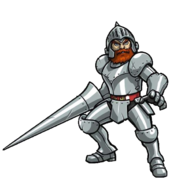 Ghosts 'n Goblins - Sir Arthur as he appears in Otoranger