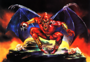 Demon's Crest - Fireband as seen in the North American & Europeancover art by Julie Bell