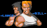 Contra - Bill and Lance in the arcade version of Contra