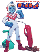 Dig Dug - Taizo Hori as he appears for his 30th Anniversary of Dig Dug