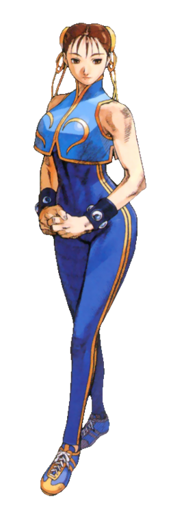 Street Fighter - Chun-Li as seen in Street Fighter Alpha