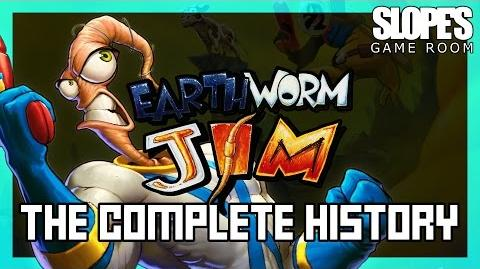 Earthworm Jim The Complete History - SGR
