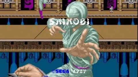 Shinobi Longplay (Arcade) 60 FPS