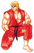 Street Fighter - Ken Masters as seen in Street Fighter 2