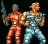 Contra - Bill and Lance as they appear in Contra III The Alien Wars