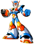 Mega Man X - Mega Man X wearing his Third Armor