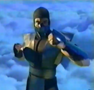 Mortal Kombat - Noob Saibot as Sub-Zero as seen in Mortal Kombat Mythologies Sub-Zero