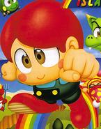 Bubble Bobble - Bubby as he appears in Rainbow Islands