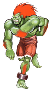 Street Fighter - Blanka as seen in Street Fighter II