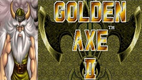 Golden Axe II - Gilius Thunderhead (Genesis)