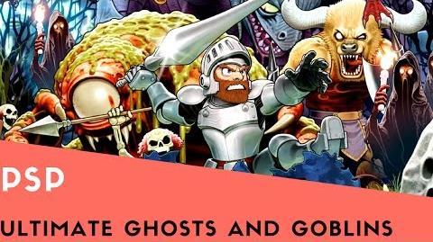 PSP Longplay 4 Ultimate Ghosts 'n Goblins Part 1