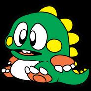 Bubble Bobble - Bub as he appears back in 1986