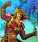 Castlevania - Simon Belmont as seen on the Japanese handheld version of Castlevania II Simon's Quest