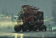 Twisted Metal - The Dark Tooth Vehicle as seen in Twisted Metal Head On