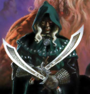 Forgotten Realms - Drizzt Do'Urden as he appears in D&D 2nd Edition