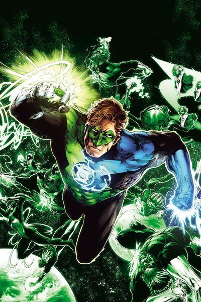 Green Lantern Hal Jordan Fatal Fiction Wikia Fandom
