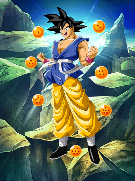 Super 17 Saga!! Dragon Ball GT CCG Goku The Heroic Fighter Lvl 4!