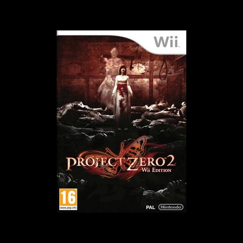 Portada europea de Project Zero 2: Wii Edition