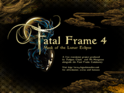 225px-Fatal Frame IV patch splash screen1
