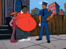 Fat-albert and ofiicer gomez