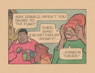 Fat Albert comic Dumb Donald unmasked