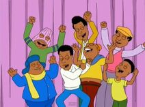 The Cosby Kids In Family Guy