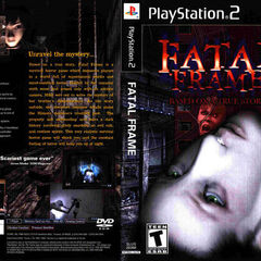 Fatal Frame I front and back US release box art
