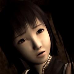 Mayu after being found inside the Kurosawa House.