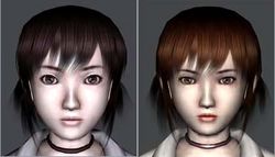 Miku face comparison