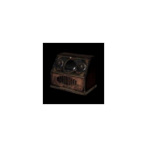 The spirit stone radio in <i>Fatal Frame II</i>.