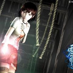 Artwork featuring the second playable character, Miku Hinasaki