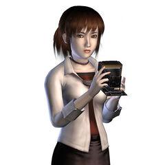 Concept art showing Miku's features.