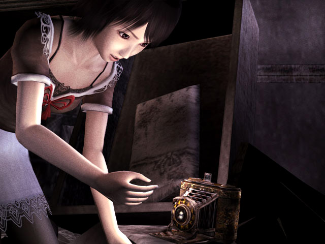 Image - Mio reaches for Camera Obscura.jpg | Fatal Frame Wiki ...