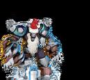 Overgrown Santa-Clawz