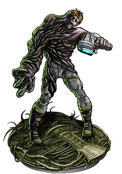 Infected Soldier v2 Figure