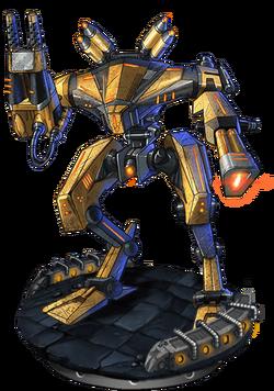 Assault Mech Mk. III v3 Figure