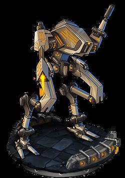 Assault Mech Mk. II Figure