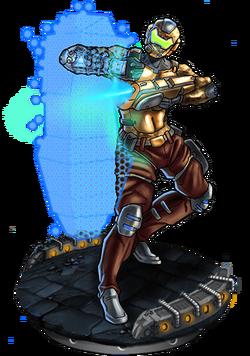 Crdnl Defender v2 Figure