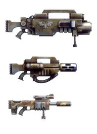 Ballistic infantry guns