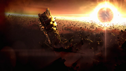 Charon Debris Field