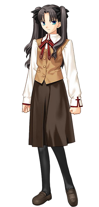 Rin Tohsaka Fate Wikia Fandom