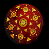 Studded Large Shield