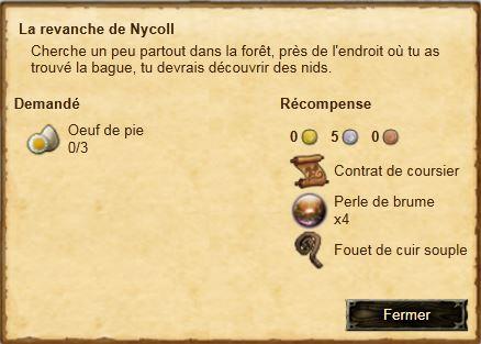 La revanche de Nycoll