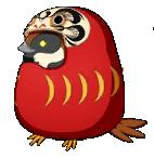 Sparrow08 daruma