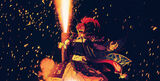 Mori Nagayoshi - Japanese Handle Fireworks