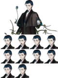 Sherlock Holmes Spritesheet NPC-Story